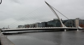 Samuel becket bridge, Dublin