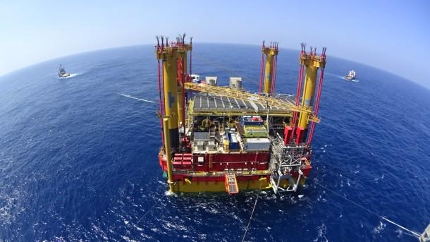 DCP platform offshore survey